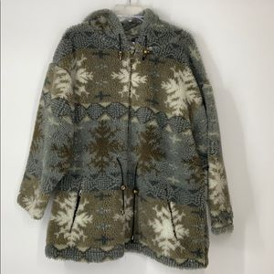 Vintage Aztec cozy jacket medium